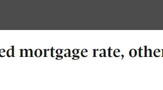 重磅!RBC今日下调固定按揭利率 !其他银行也会相继降息