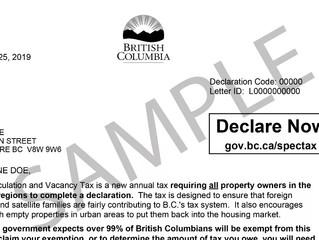 BC省府提醒房主 收到这封信要认真回复