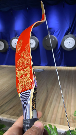 Kheshig Bow with Hand Painting