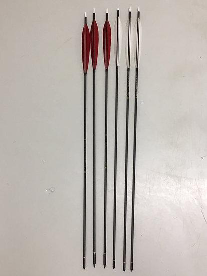 6pc Manchu Target Arrow