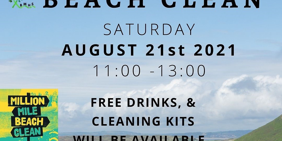 BEACH CLEAN-Save the date 21st of August 2021.