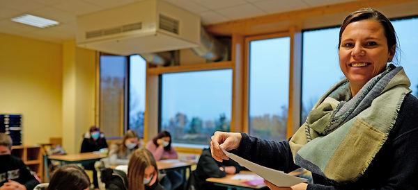 Wollenbergschule Deutschunterricht Foto: Sabine Matzen