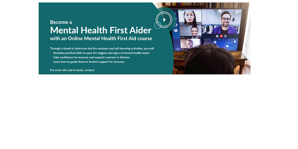Online Adult MHFA  (Mental Health First Aid)