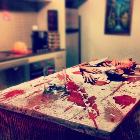 A Human Meat Market Halloween