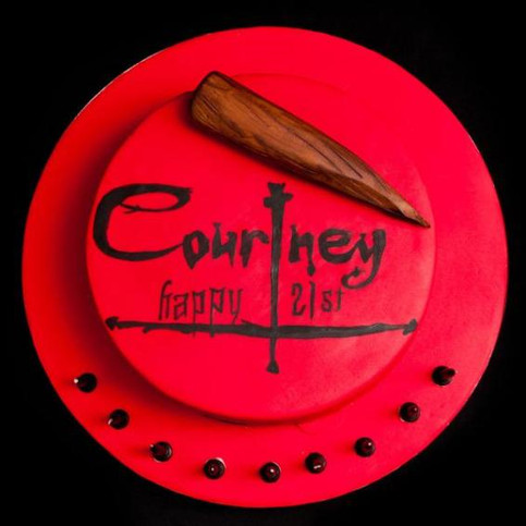 Buffy The Vampire Slayer Cake