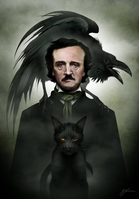 The Face Of Darkness: Meet Edgar Allen Poe