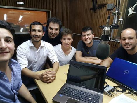 Coequipo en Radio Universidad