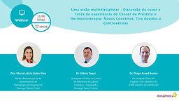 Discussão e troca de experiência do câncer de próstata e hormonioterapia - Dúvida, conceitos e controvérsias