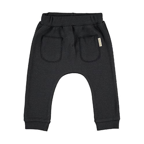 Petit Oh! Pantalon sans pieds gris foncé
