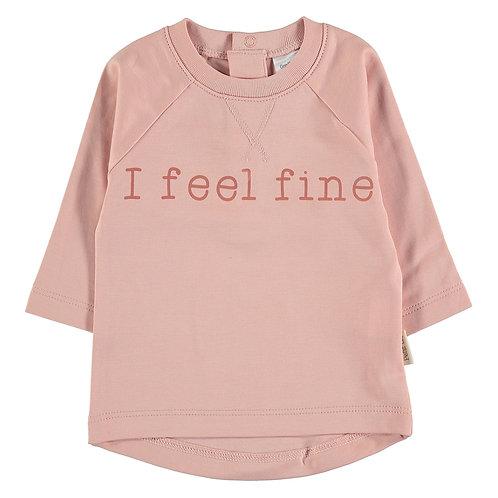 """Petit Oh! T-shirt """"I feel fine"""""""