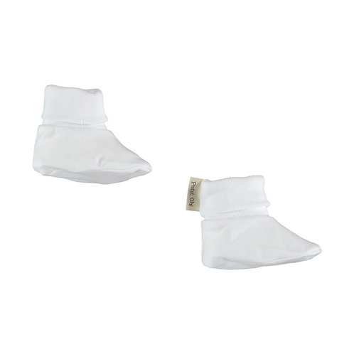Petit Oh! Chaussons blanc