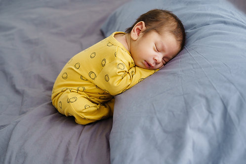 Petit Oh! Pyjama longues manches ocre