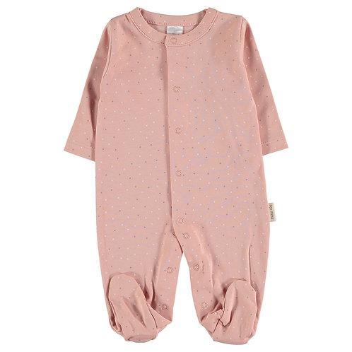 Petit Oh! Pyjama rose à petits points