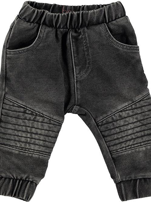 B*E*S*S Pantalon imitation denim