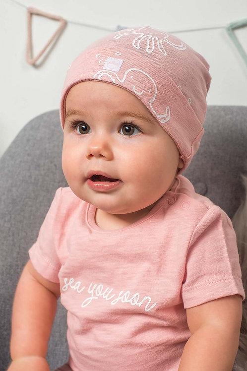 Bonnet Pieuvre rose ou gris