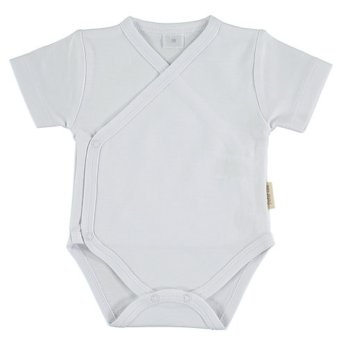Petit Oh! Body manches courtes blanc