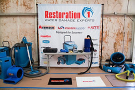 restoration equipment water damage