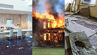 water, fire, mold damage