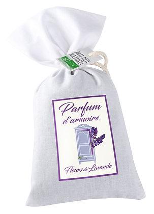Parfum d'armoire Fleurs de lavande BIO Anti mites naturel