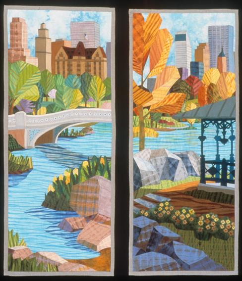 Central Park: Bow Bridge, Hearnshead