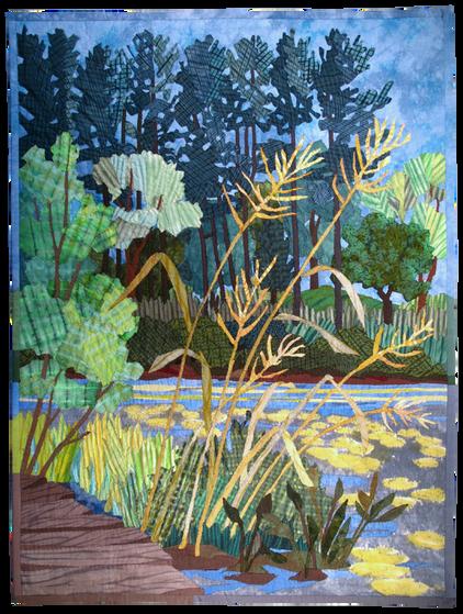 Rockery Grasses, Ipswich River