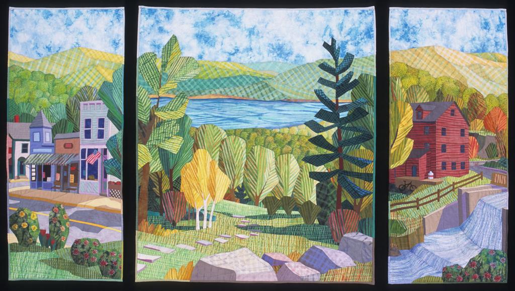 Berkshires Triptych