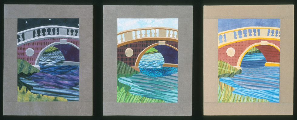 Bridge Studies: Morning, Afternoon, Evening
