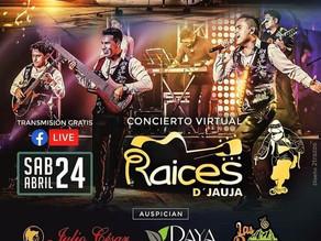 RADIO LA VOZ  & RAICES DE JAUJA - NOCHE  DE SERENATA A JAUJA
