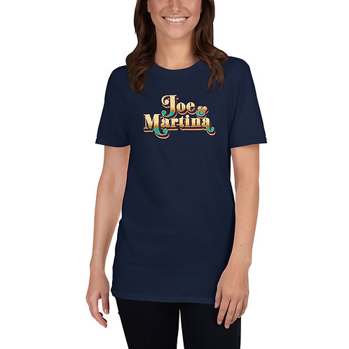 J&M Logo Short-Sleeve Unisex T-Shirt