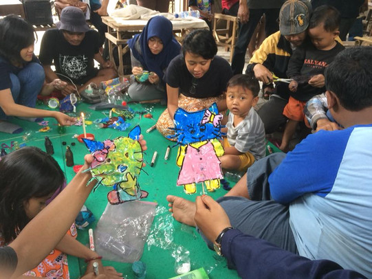 past activity upcycle forum wayang plast