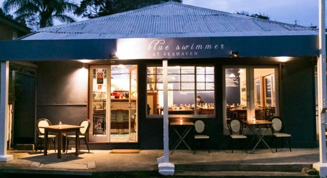 Blueswimmer Cafe - just a short walk away.