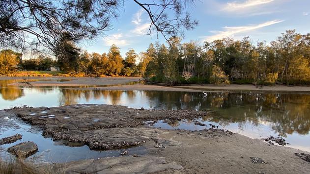 Crooked River at Gerroa.