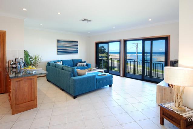 Living area - first floor.