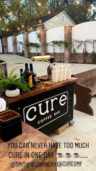 Cure Mobile Coffee Bar