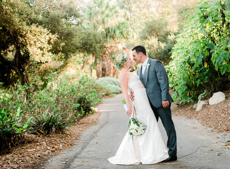 Alyssa + Sean: San Diego Botanic Garden – Encinitas