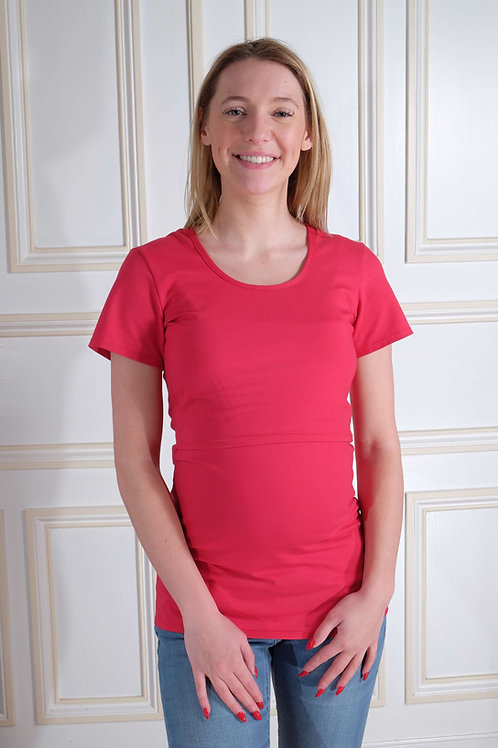 522-Tee shirt allaitement Nelly Clary