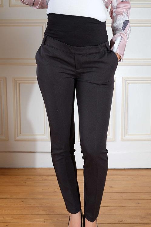 444-Pantalon habillé noir Brunelli