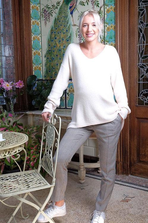 447-Pantalon habillé Prince de Galles BrunelIi