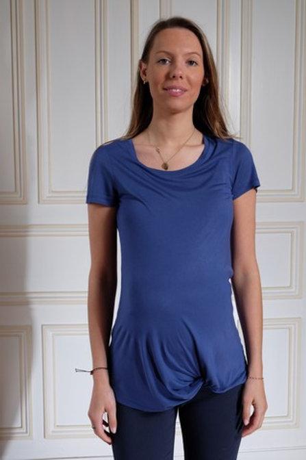 388-Tee shirt bleu Esprit