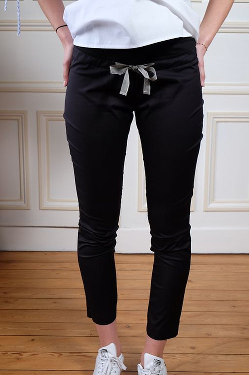 354-Pantalon 7/8 noir Balloon