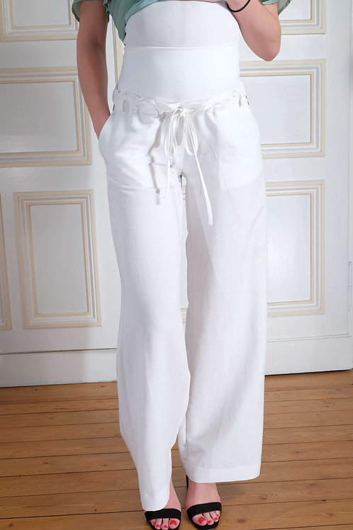 536-Pantalon large Pietro Brunelli
