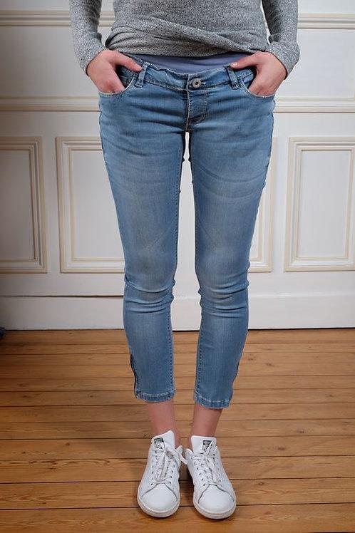 304-Jean slim 7/8 bleu Noppies