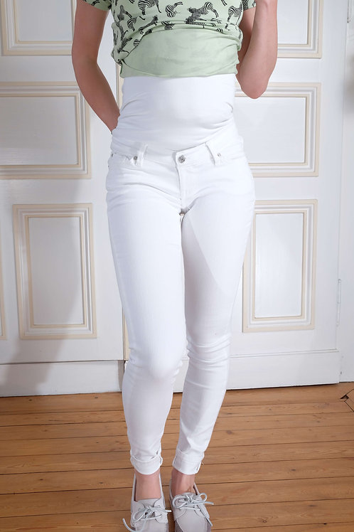 546-Jean skinny blanc Noppies