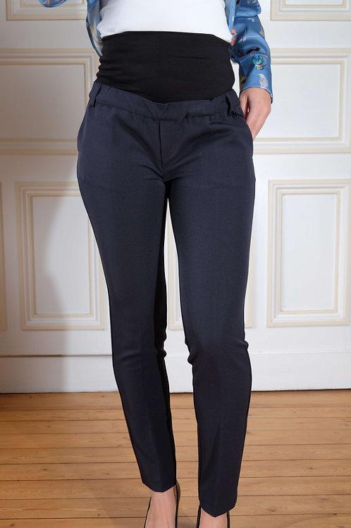 445-Pantalon habillé marine Brunelli