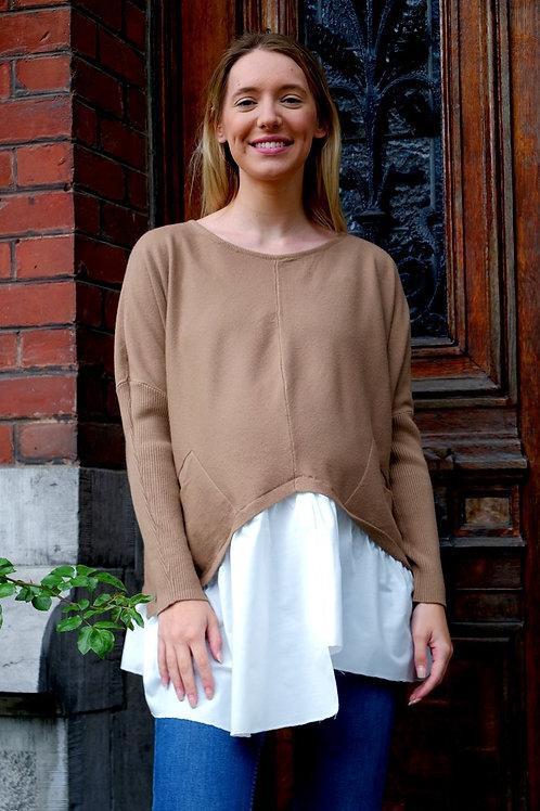 762-Pull chemise