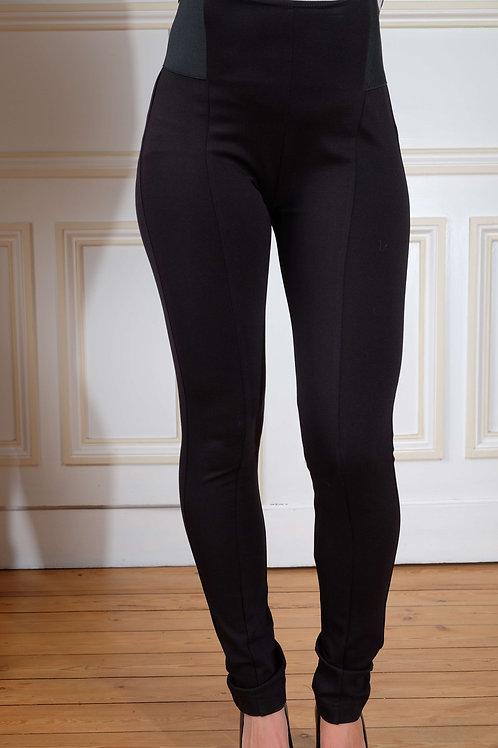443-Pantalon slim noir Brunelli