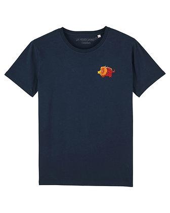 Tee shirt Créaton Bleu-marine