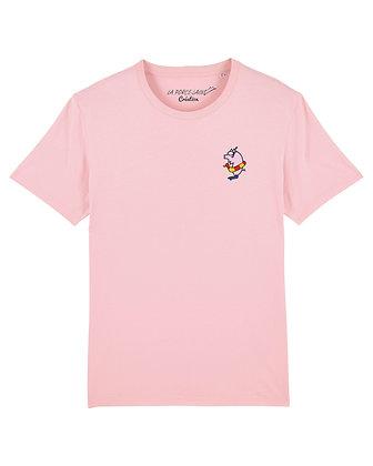 Tee shirt Création Rose