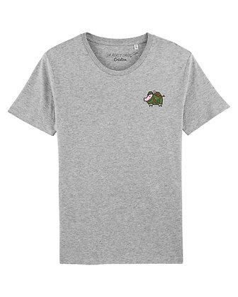 Tee shirt Création Gris