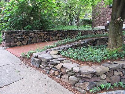 Stone Wall J. Mitchell Gardens & Stone51487254_2453650908108617_62762765590787
